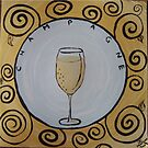 champagne by Jackie Morgan
