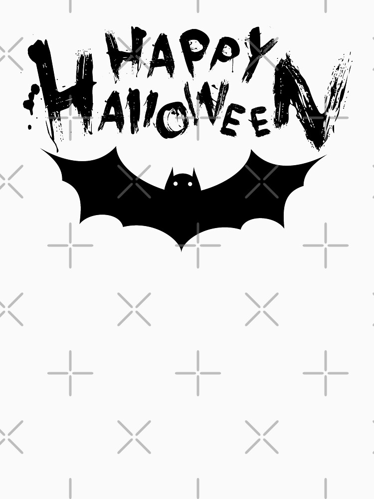 Halloween Funny Design with Bat by -WaD-