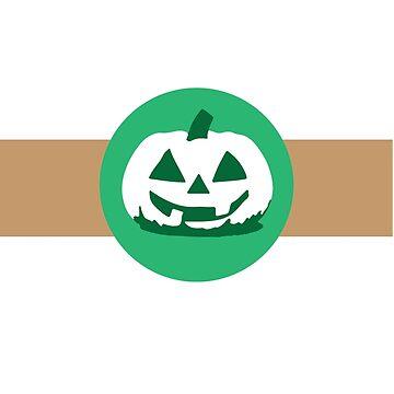 Halloween Pumpkin Spice Coffee Latte by BlackCoffeeCake