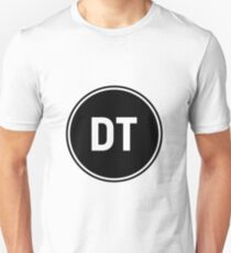 DT circle design  Unisex T-Shirt