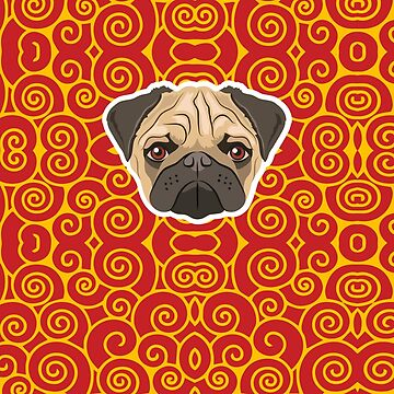 Prince the Pug by giddyaunt