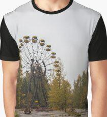 Pripyat Chernobyl Ferris Wheel  Graphic T-Shirt