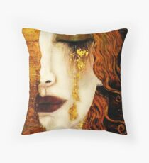 Klimt Golden Tears Floor Pillow