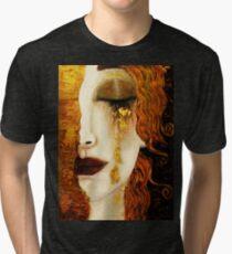 Klimt Golden Tears Tri-blend T-Shirt