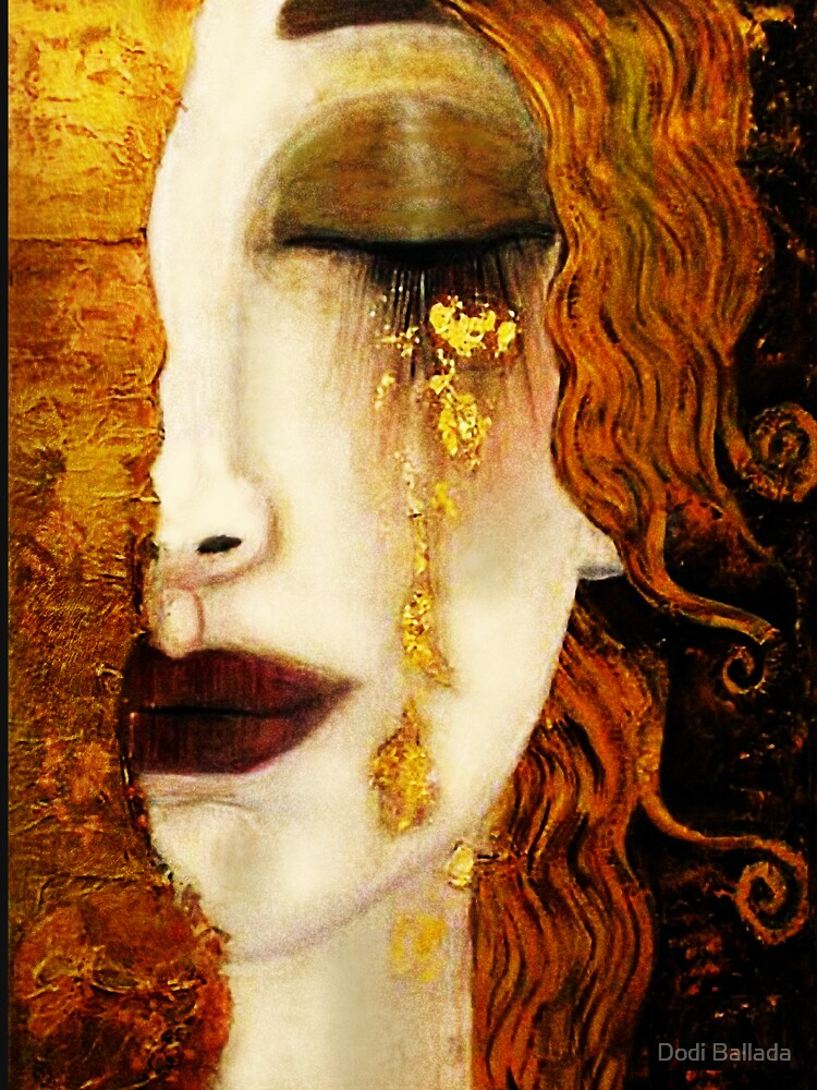 Klimt Golden Tears by timelessfancy