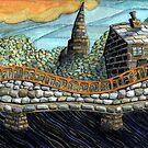 167 - MORPETH BRIDGE (WATERCOLOUR & COLOURED PENCILS) by BLYTHART