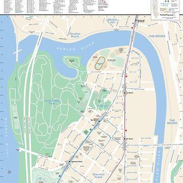 New York City - Inwood Map - HD by superfunky