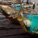 Boats at Big MIllys by Wayne King