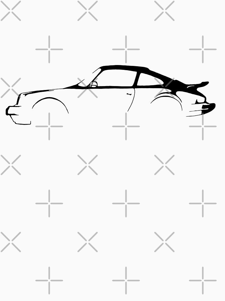 Porsche 911 Silhouette  by drivetribe