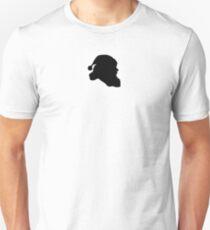Santa Claus Black Silhouette Unisex T-Shirt
