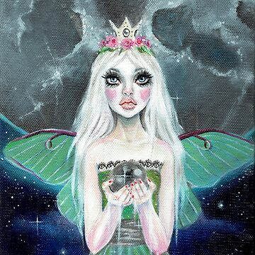 Luna Moth - fairy with Luna Moth wings by KimTurner