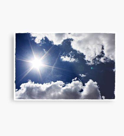 African Sky Blue Metal Print