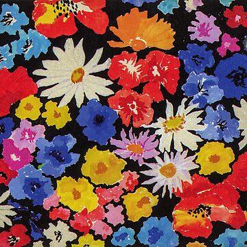 Bouquet of Flowers 1930 by Talierch