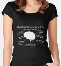 9d81dd7dd Funny Chiropractor's Thoughts Fitted Scoop T-Shirt