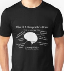 Funny Chiropractor's Thoughts Unisex T-Shirt