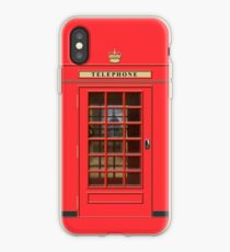 British Red Phone box with St Pauls iPhone Case