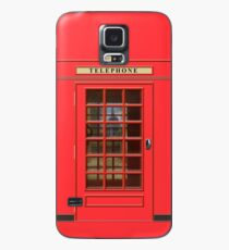 British Red Phone box with St Pauls Case/Skin for Samsung Galaxy