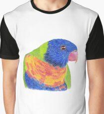Rainbow Lorikeet Graphic T-Shirt