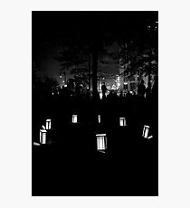 Providence Waterfire Festival Photographic Print