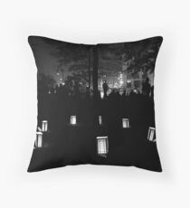 Providence Waterfire Festival Throw Pillow