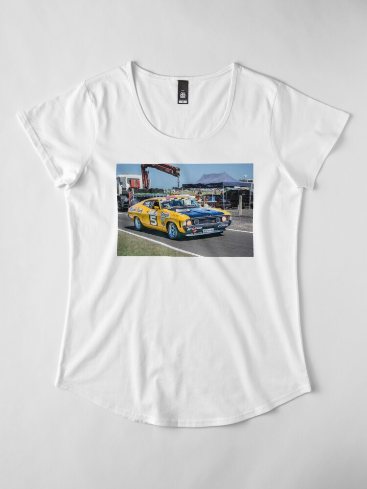 Alternate view of Group C McLeod Falcon Premium Scoop T-Shirt