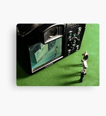 You're on CCTV Canvas Print