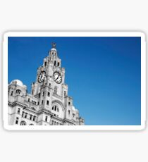 Royal Liver Building Liverpool Sticker