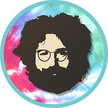 Grateful Dead - Jerry Garcia by BerksGraphics