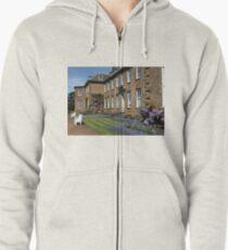 Upton House and Wisteria Zipped Hoodie