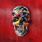 Hot Rod Skull by Ali Gulec