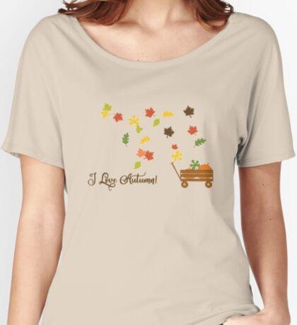 I Love Autumn Women's Relaxed Fit T-Shirt