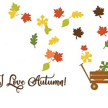 I Love Autumn by DesignsByDebQ