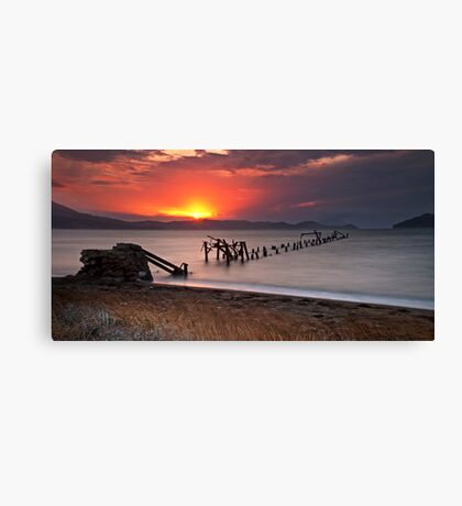 Just before dusk Canvas Print