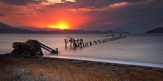 Just before dusk by Kostas Pavlis
