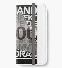 born in 2000 iPhone Wallet/Case/Skin