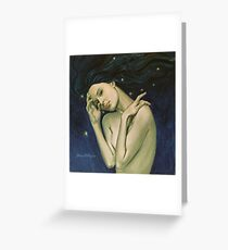"""Virgo""...from ""Zodiac signs"" series Greeting Card"