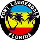 Fort Lauderdale Florida by MyHandmadeSigns