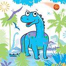 Dinosaur by flamingrhino