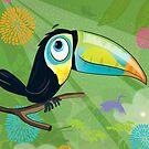 Toucan  by flamingrhino