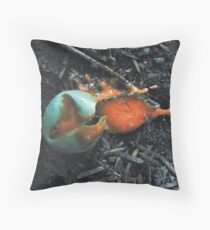 The Death of Pac Man Throw Pillow