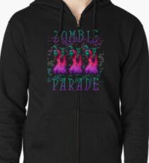 Zombie Parade Zipped Hoodie