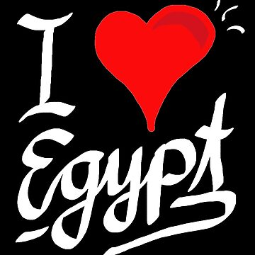 I love Egypt - Egypt by matches1