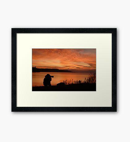 Peaceful, Easy Feeling Framed Print
