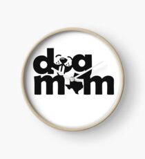 Dog Moms of Texas Clock