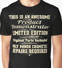 Product Demonstrator Funny Job Gift Graphic T-Shirt
