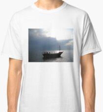 Boat on Sea of Galilee, Israel Classic T-Shirt