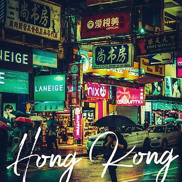 Hong Kong at Night by madtoyman