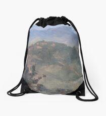 Dusk at Castello delle Forme Drawstring Bag