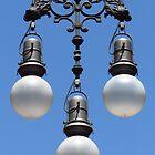 Ornate Lamp, Barcelona by wiggyofipswich