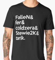 mibr 'Team' White Men's Premium T-Shirt